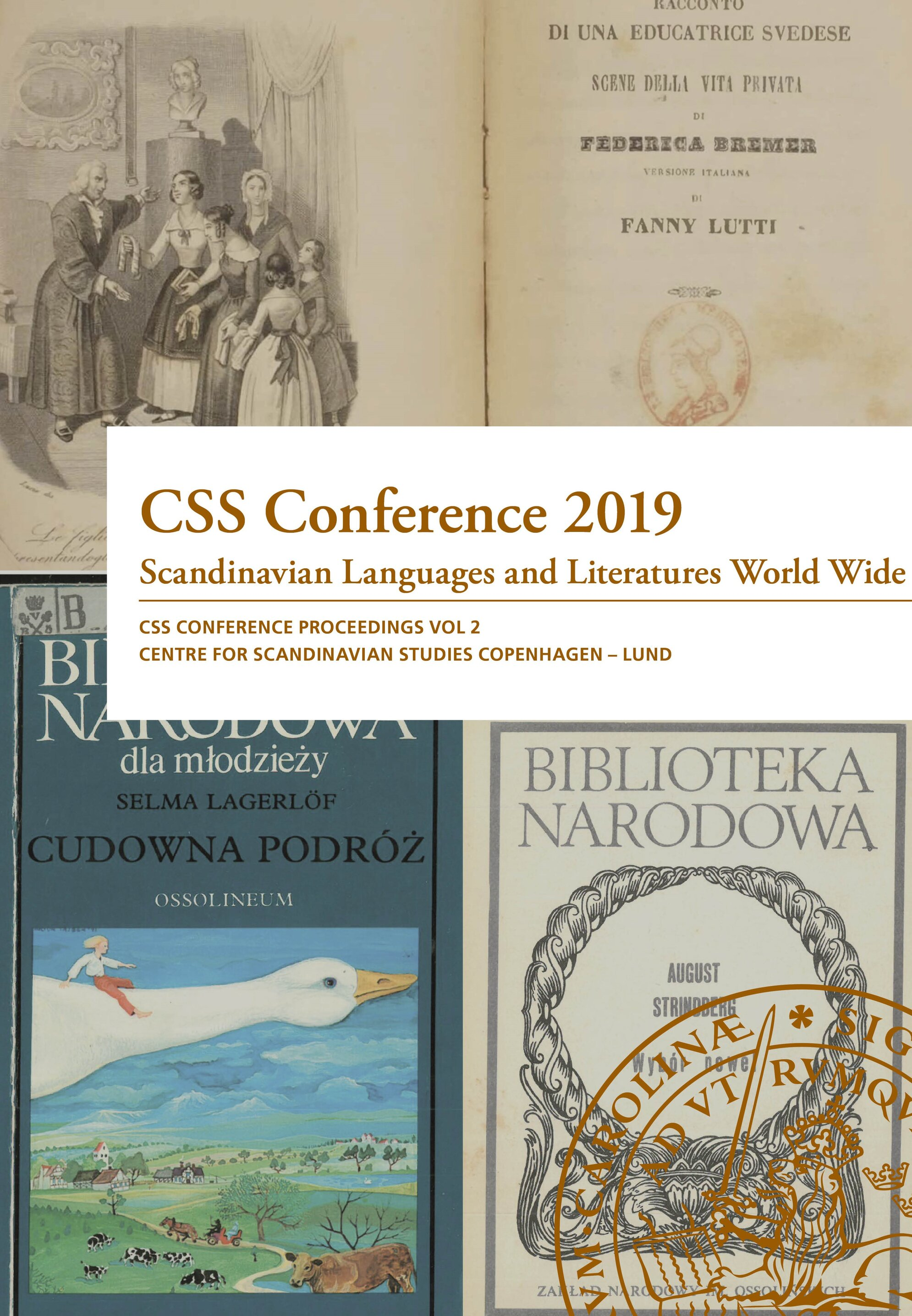 Cover of CSS Conference Proceedings 2019